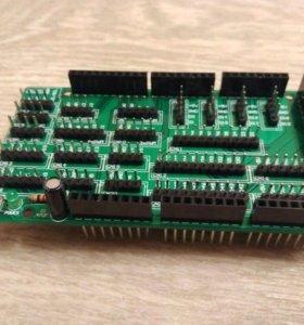 Шилд для arduino mega 2560