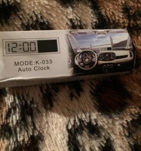 Часы в машину