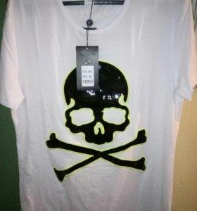 Бреновая футболка Philipp Plein