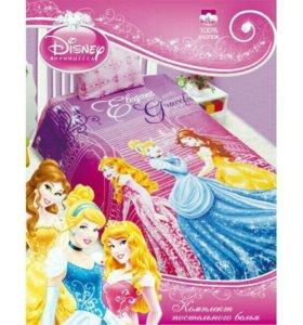 Кпб Disney Принцессы в замке 1,5 сп