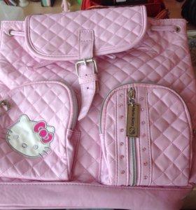 Детский рюкзачок Hello Kitty оригинал