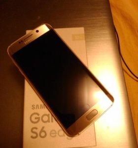 Samsung Galaxy s 6 edge+часы+зарядка