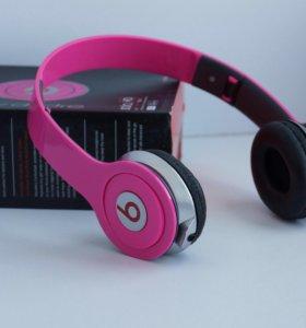 Наушники Beats Solo HD розовые