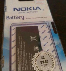 AKB для Nokia X2 BV-5S