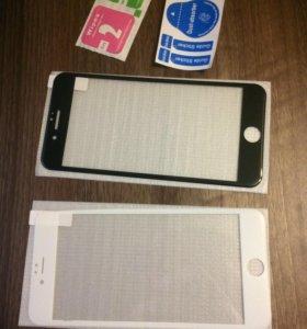 3Д стекла на iPhone 6/6s, 7, 6 и 7+
