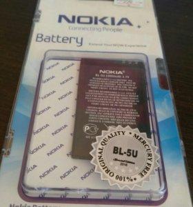 АКБ для Nokia BP-5U