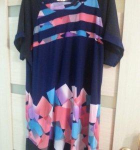 Туника-платье р.56-58