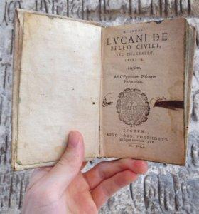 Антикварная книга 17 века, 1601 год, латынь