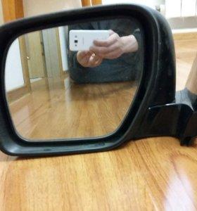 Зеркало на Mitsubishi Pajero
