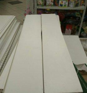 Стенки наборные для торгового стеллажа б/у.
