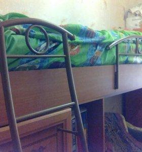 Кровать детская 2-й ярус