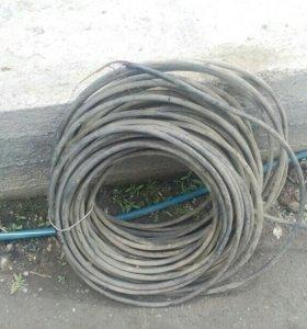 Продается кабель  бронированный, четырех жильный м