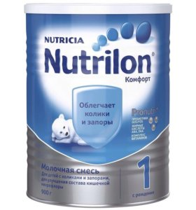 Смесь Nutrilon NUTRICIA комфорт 1