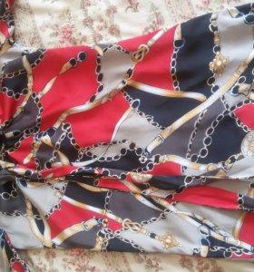 Платье с подкладом 44