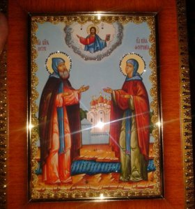 Икона Св. Петра и Февроньи