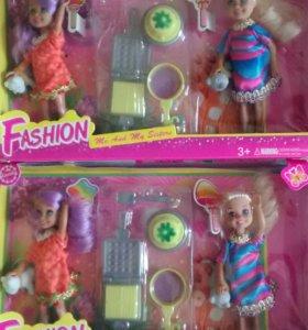 Набор кукол с аксессуарами