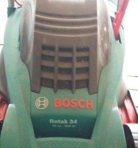 Газонокосилка электрическая  Bosch