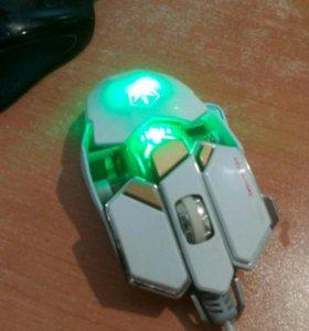 Мышь с подсветкой игровая