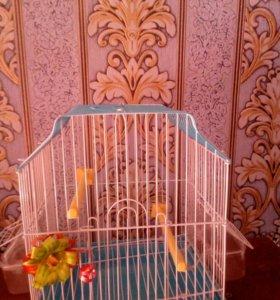Клетка для попугая,