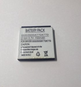 Батарея для Sony Ericsson BST-38