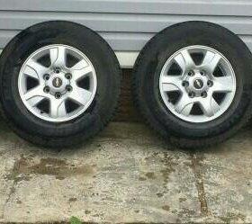 Литые диски+резина Chevrolet Trailblazer