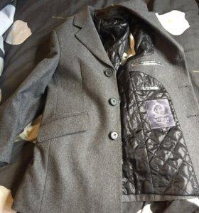 Пальто шертяное на мальчика