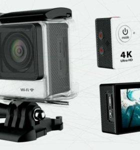 Экшен камера 4к wi-fi. Новая