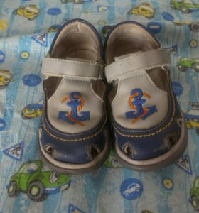 Сандали для мальчика .р 22