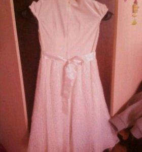 Платье детское , 8-10 лет.