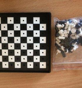Шашки/шахматы (карманные)
