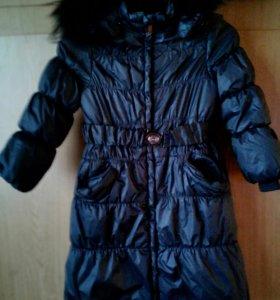 Куртка дет. зимняя на 7-8 лет.