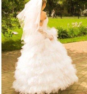 Свадебное платье 42.44.46