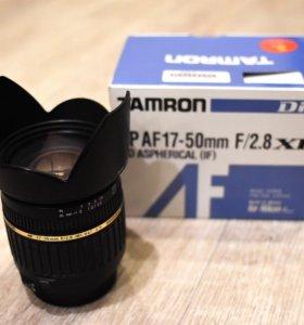 Объектив Tamron AF 17-50 mm F/2.8