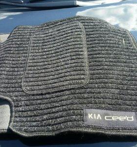 Коврики мягкие на Kia Ceed