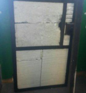 Дверь железный самодельный