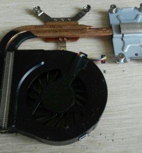 Охлаждение процессора и видеокарты ноутбука