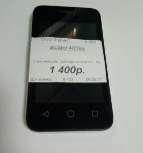 Alcatel 4009 d