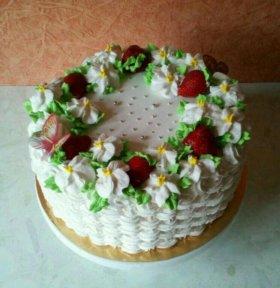 Торт с ягодами на заказ