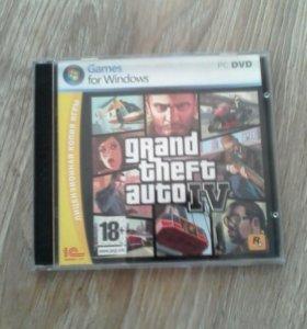 Диск Grand Theft Auto IV