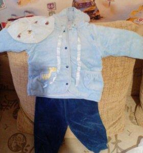 Костюмчик на мальчика (8-12 месяцев)