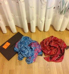 Шифоновый шарф Louis Vuitton