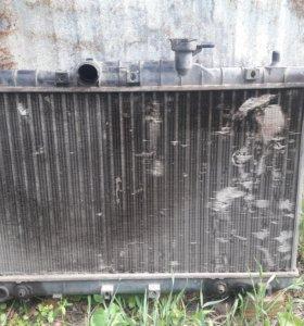 Радиатор на акцент акпп, тагаз и фари