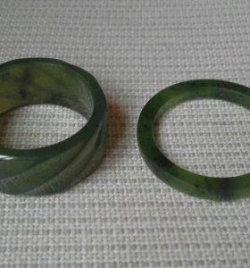 Кольца, нефрит, СССР