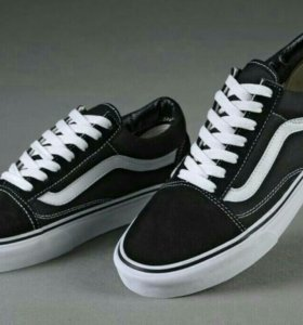 Оригинал Vans White and Black