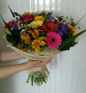 """Букет цветов """" Краски Лета"""""""