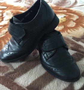 Туфли кожаные для мальчика!