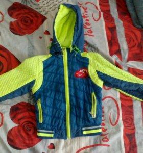 Продам детскую куртку для мальчика