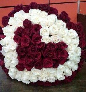 """51 роза""""Любовь"""""""