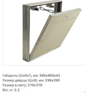 Сантехнический съемный люк под плитку Вектор 30х40