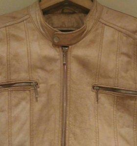 Куртка мужская кожаная